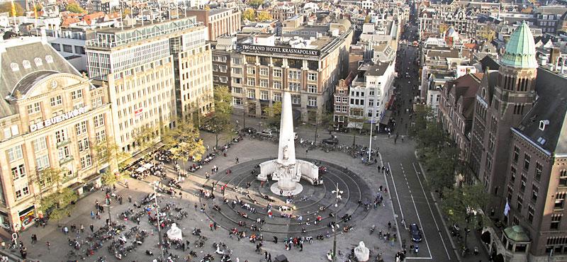 Dam Square, Wisata Sejarah di Alun-alun Ternama Kota Amsterdam