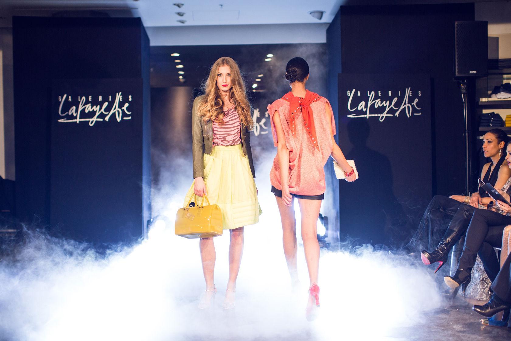 Fashion Show Mingguan di Galeries Lafayette