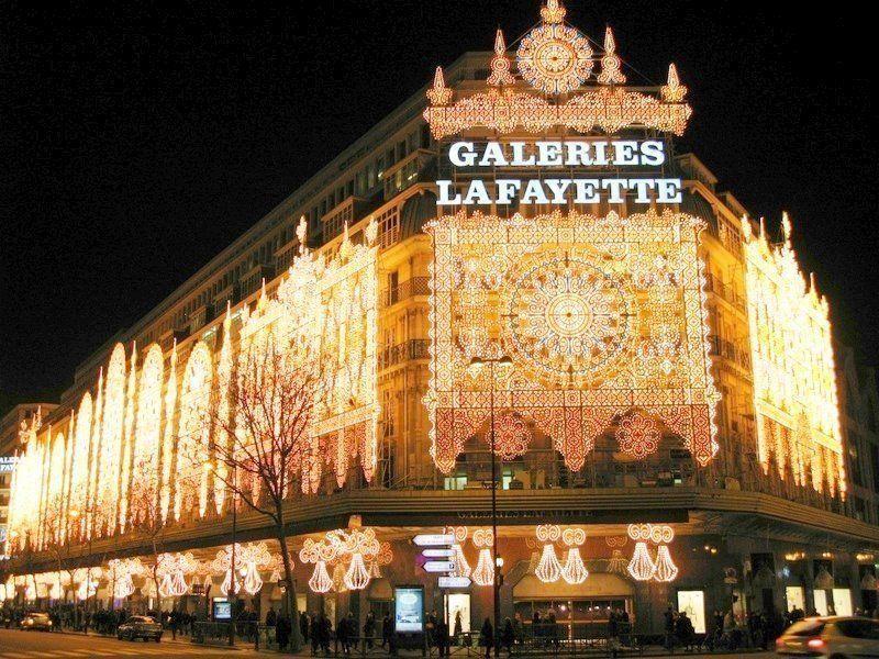 Galeries Lafayette, Department Store Ternama di Paris