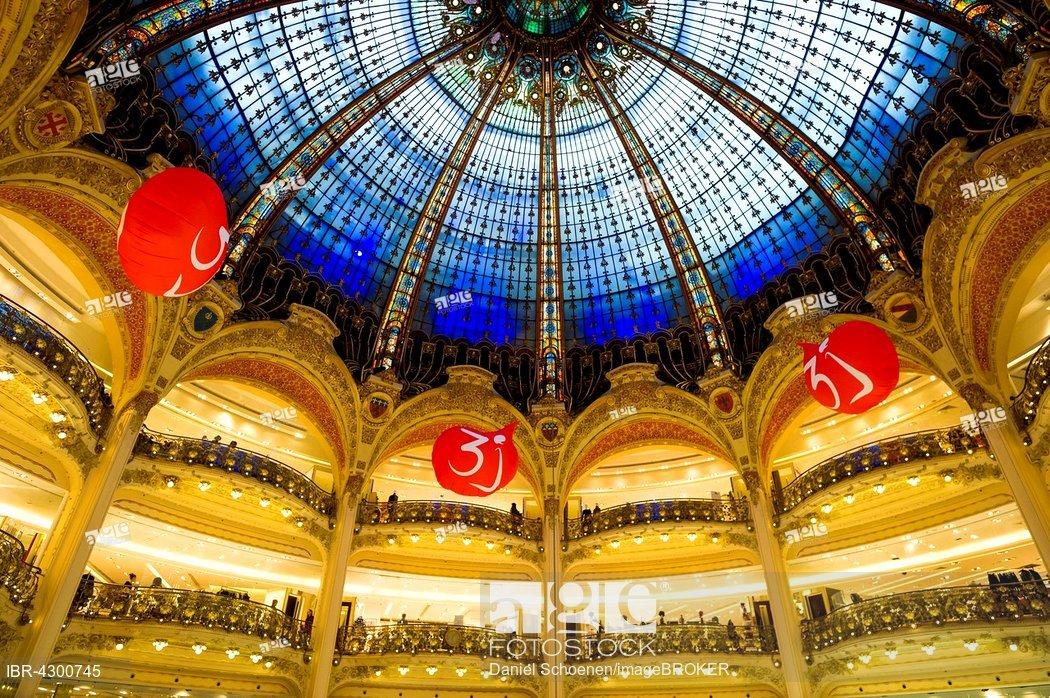 Galeries Lafayette Memiliki Tiga Bangunan