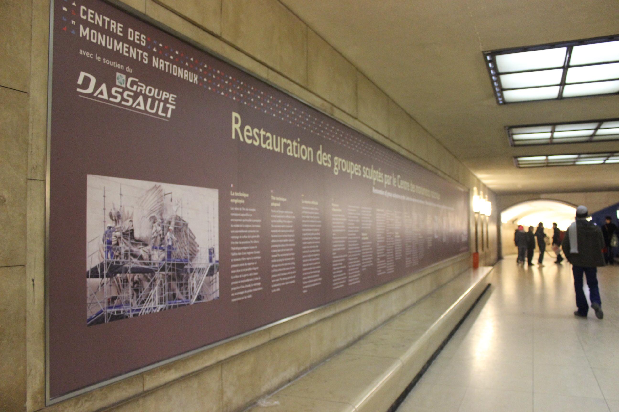 Jam Buka Arc de Triomphe