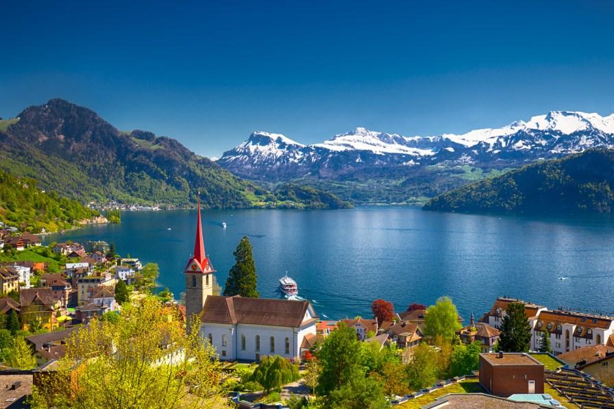 Panorama Danau Lucerne