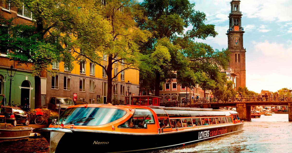 Penyewaan kapal di Amsterdam Canal Cruise