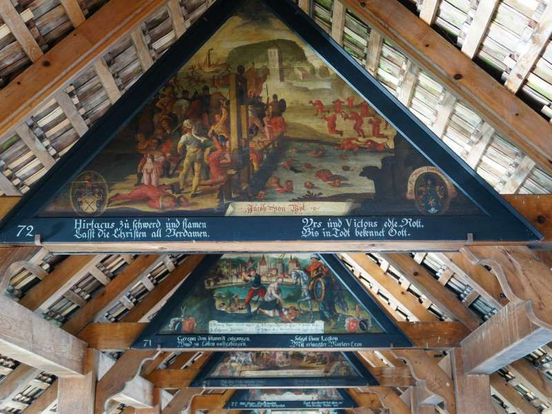 art on Chapel Bridge