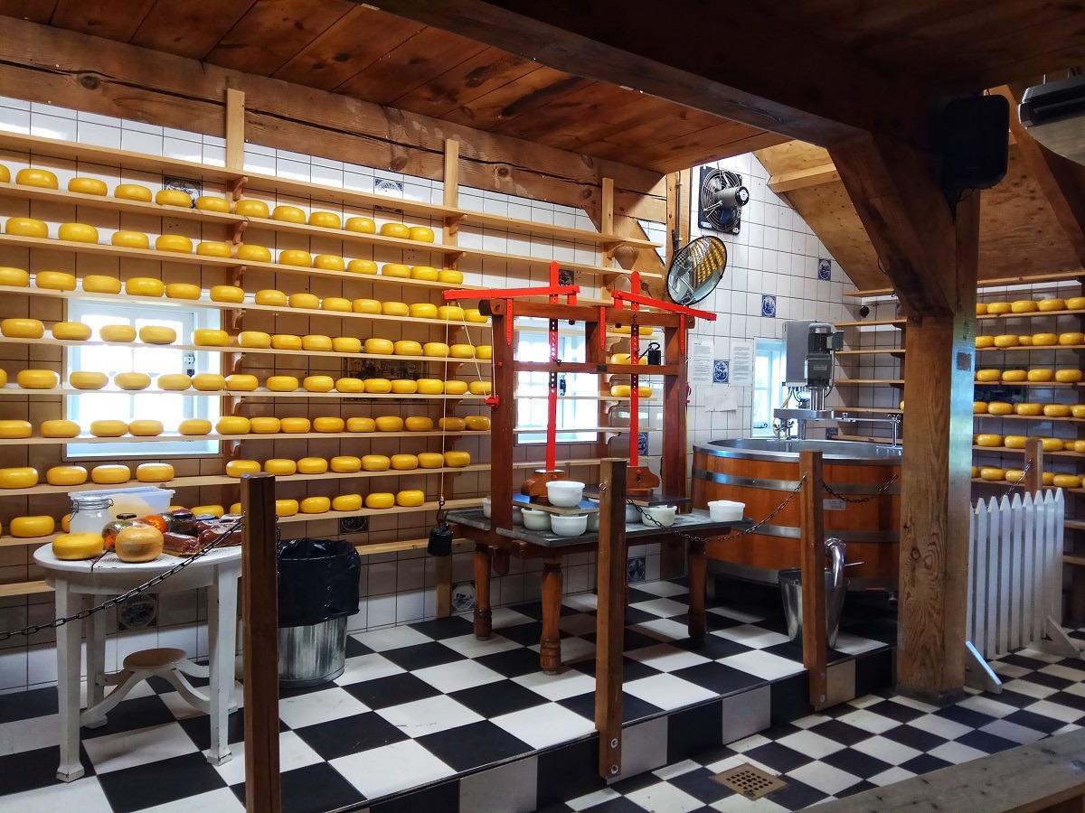Incip Keju Di Catharina Hoeve Cheese Farm