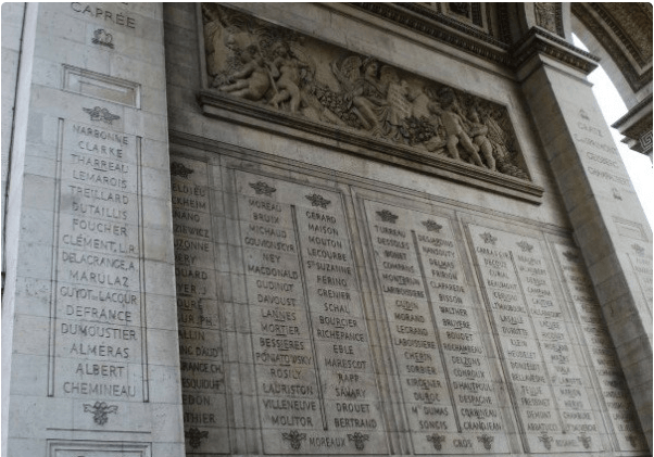 Arsitektur Arc de Triomphe
