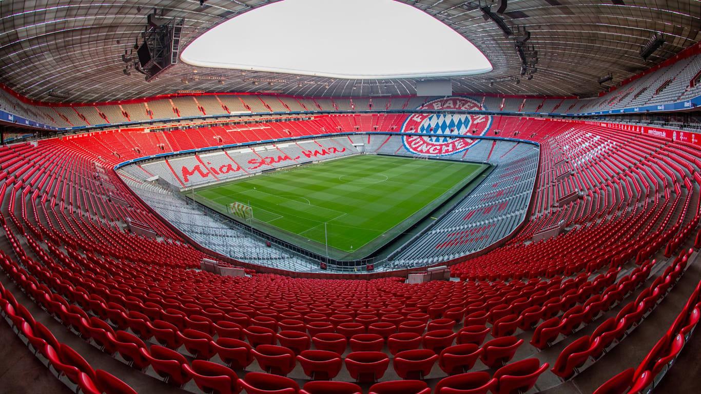 Südtribüne Allianz Arena