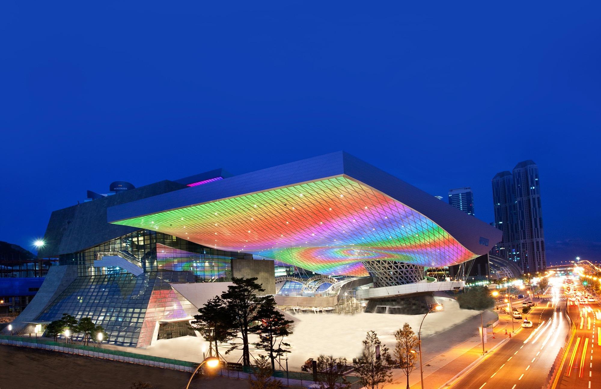 Desain Dan Konsep Busan Cinema Center