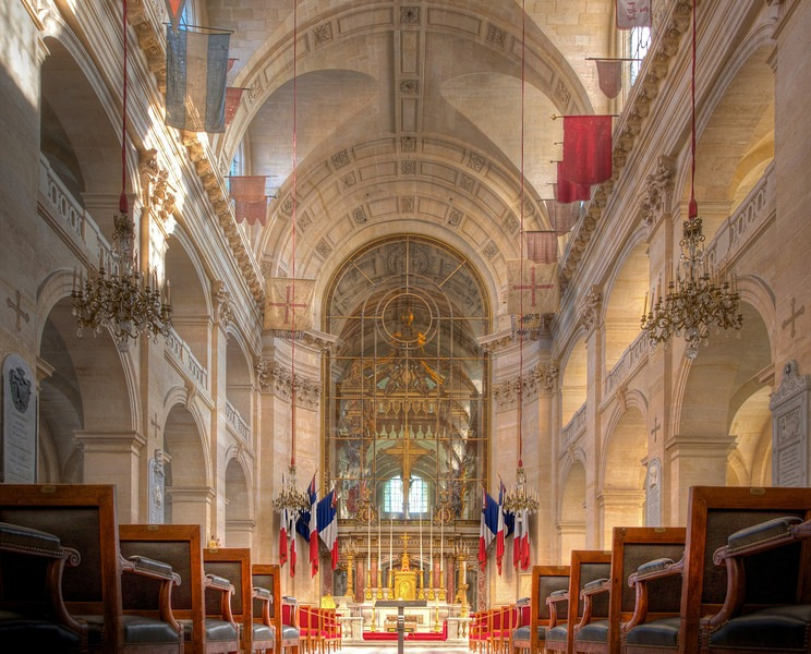 Interior St. Louis des Invalides