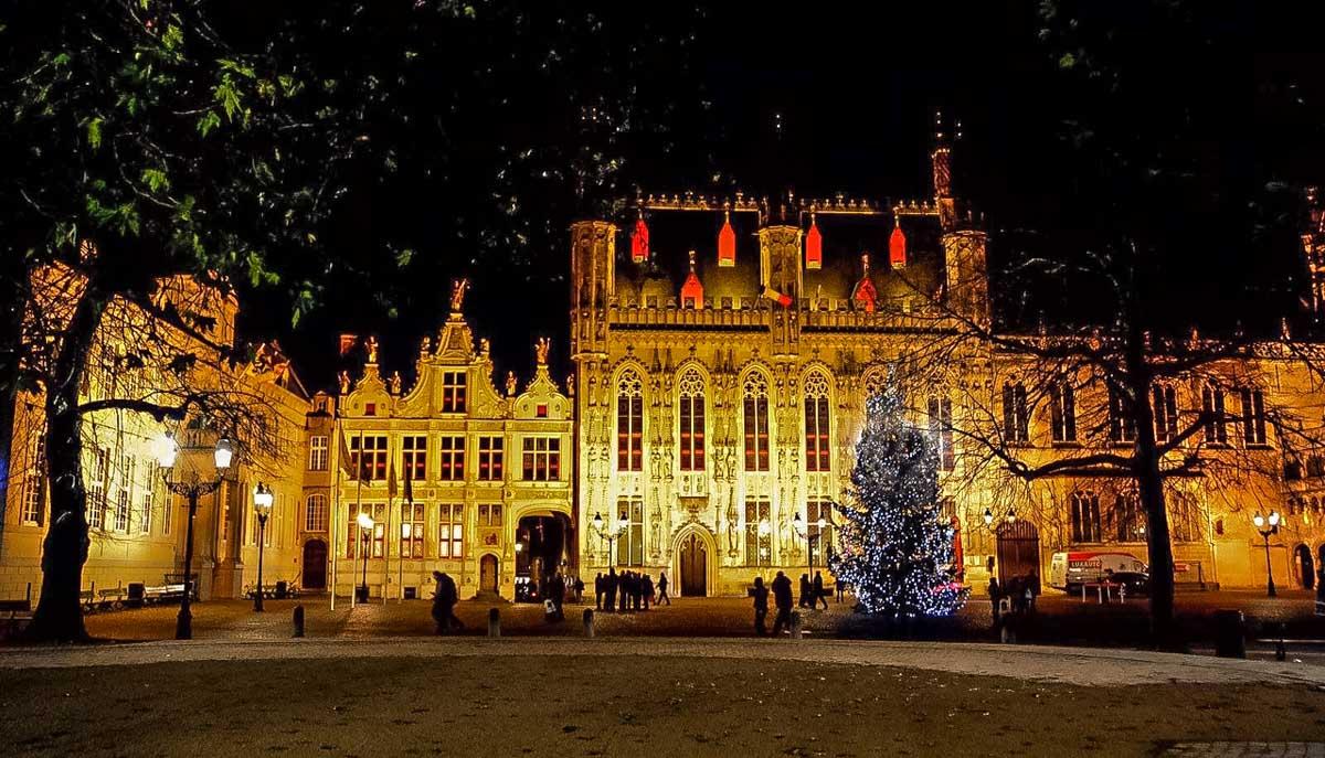 Sejarah City Hall Bruges