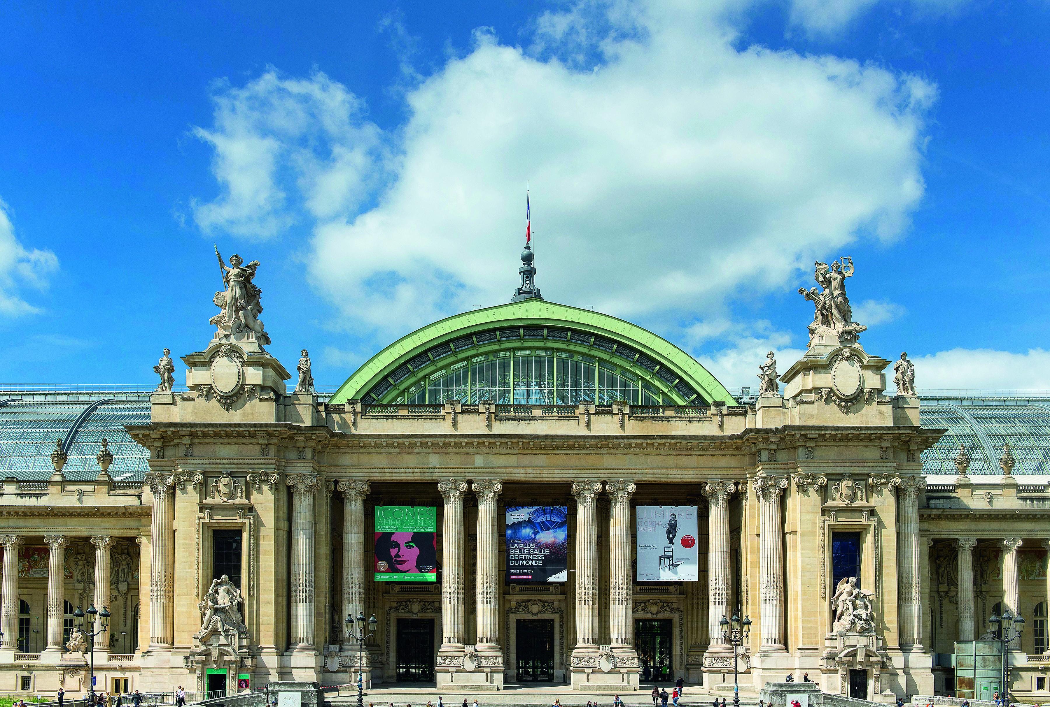 Struktur Bangunan Grand Palais