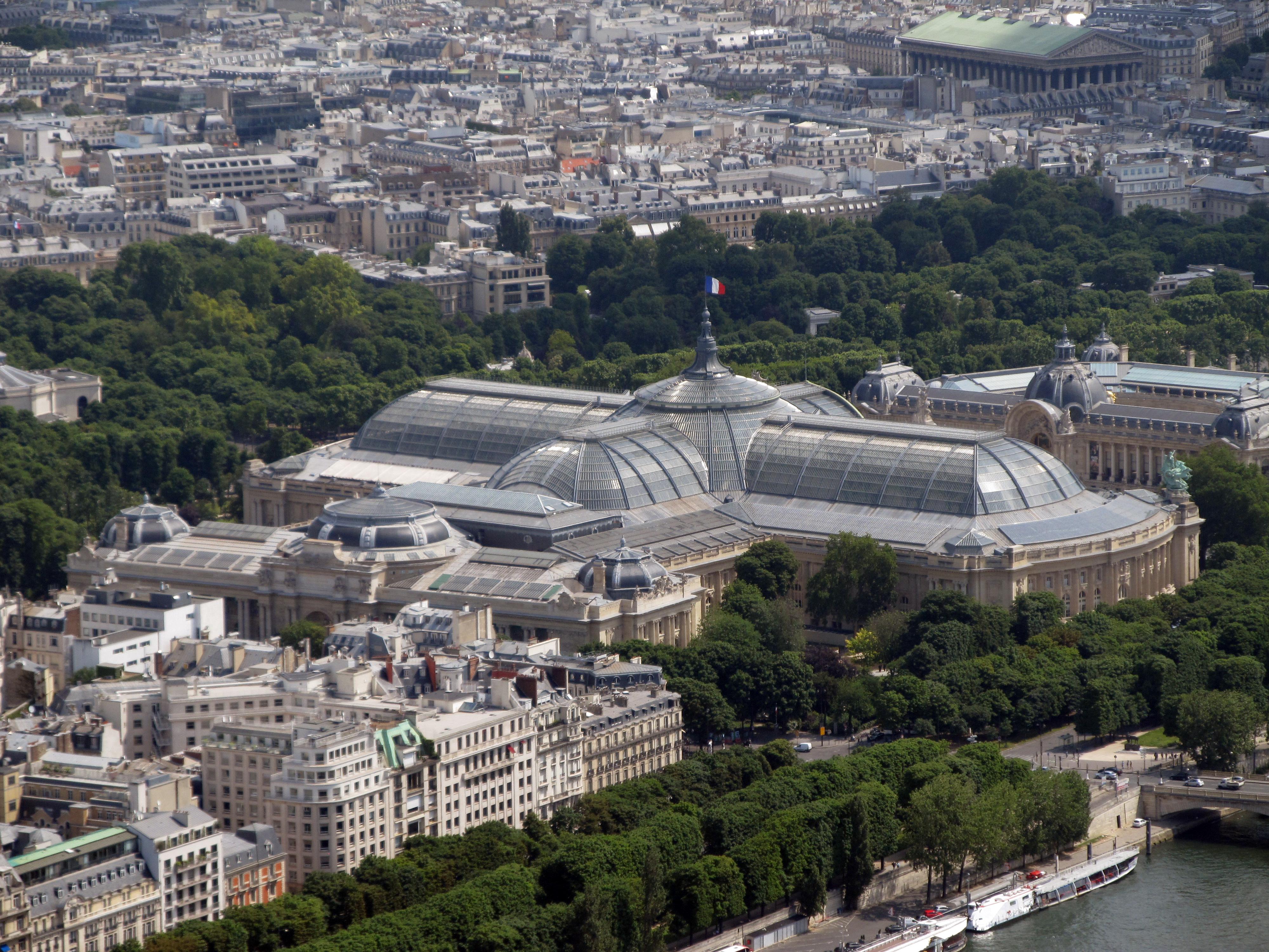 View Petit Palais Dari Menara Eiffel