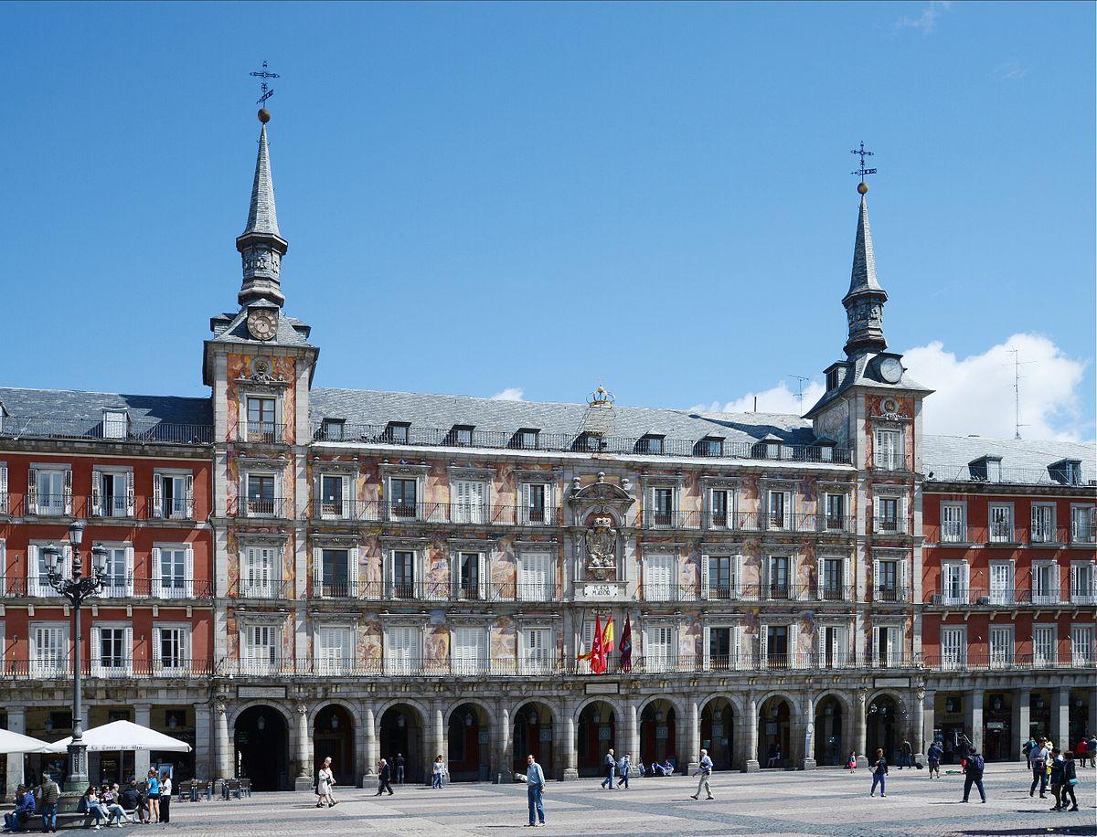 Casa de la Panadería Madrid, Bangunan Kota Dan Budaya Yang Indah di Plaza Mayor