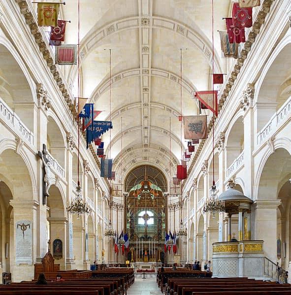 Interior Katedral Saint-Louis des Invalides di le Musée de l'Armée di Paris
