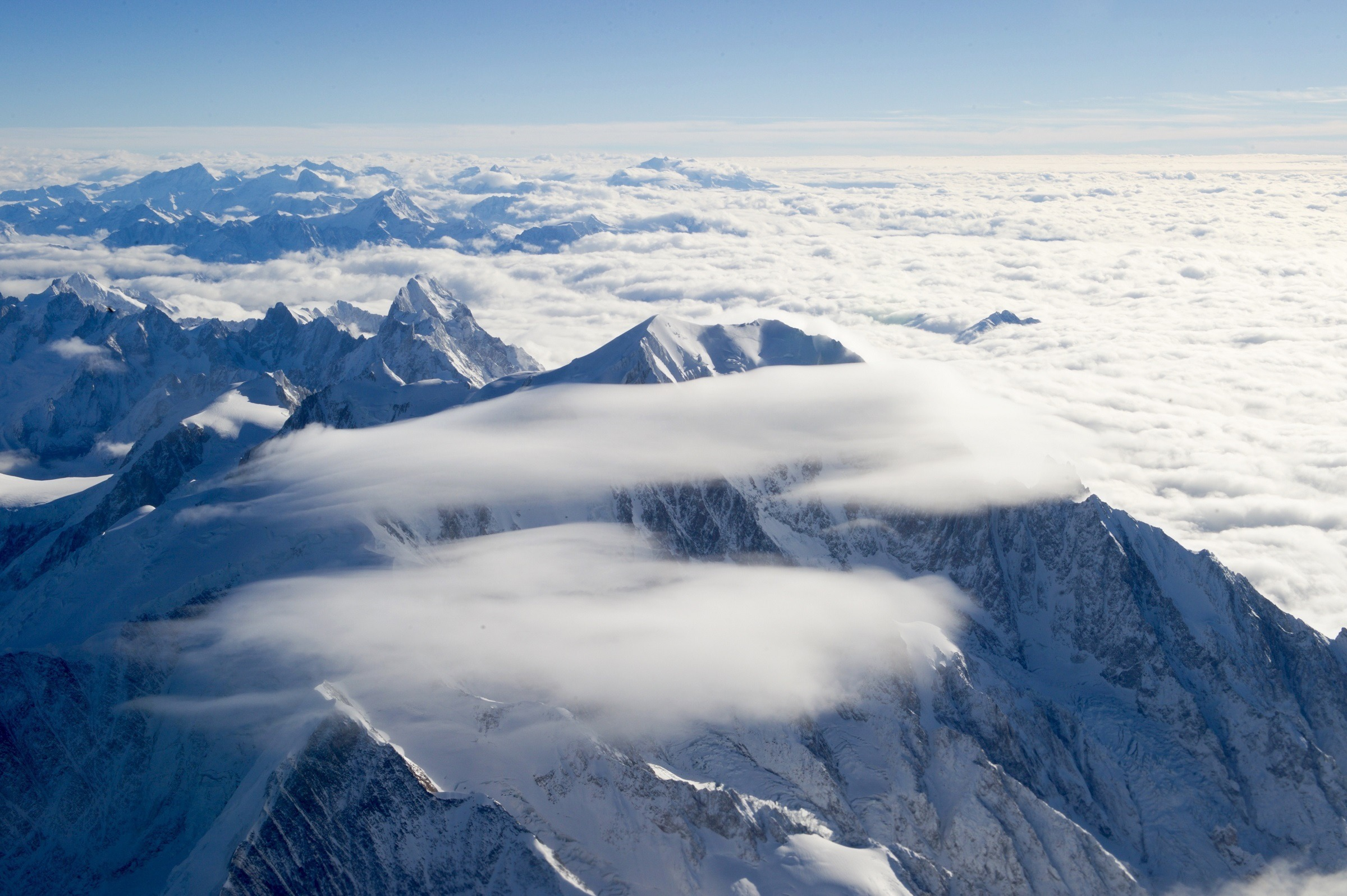 Mont Blanc Paris, Puncak Tertinggi Di Eropa