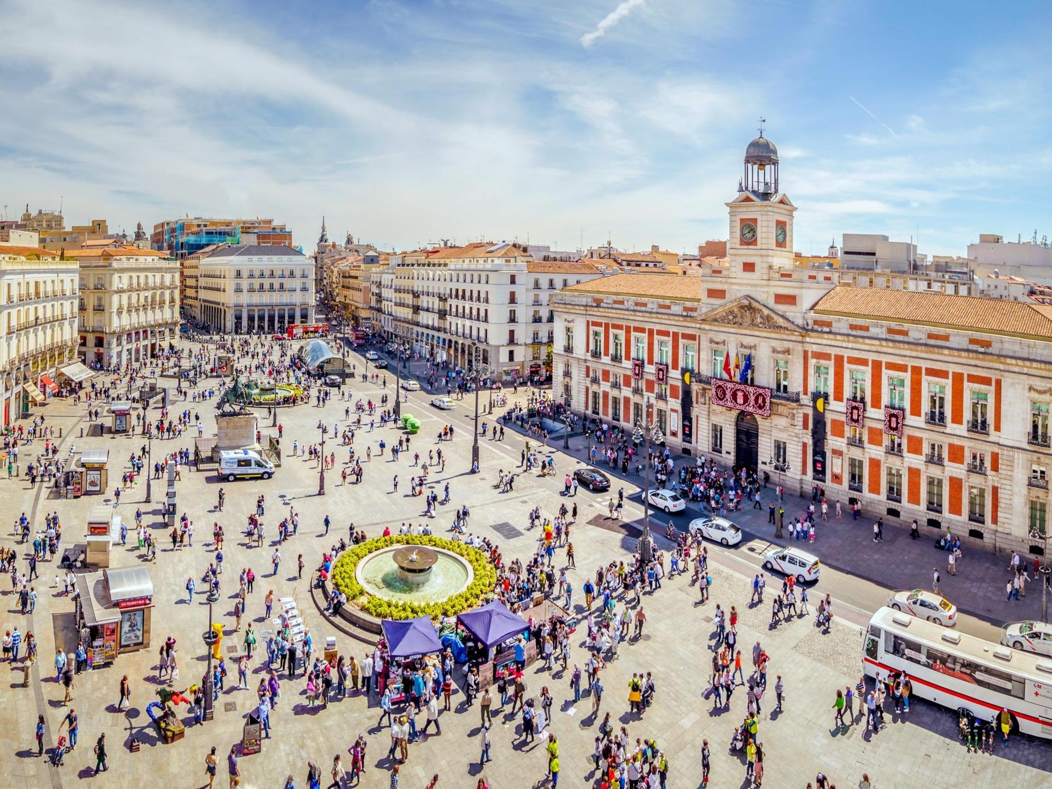 Puerta del Sol, 0 KM-Nya Kota Madrid Yang Berarti Gerbang Matahari