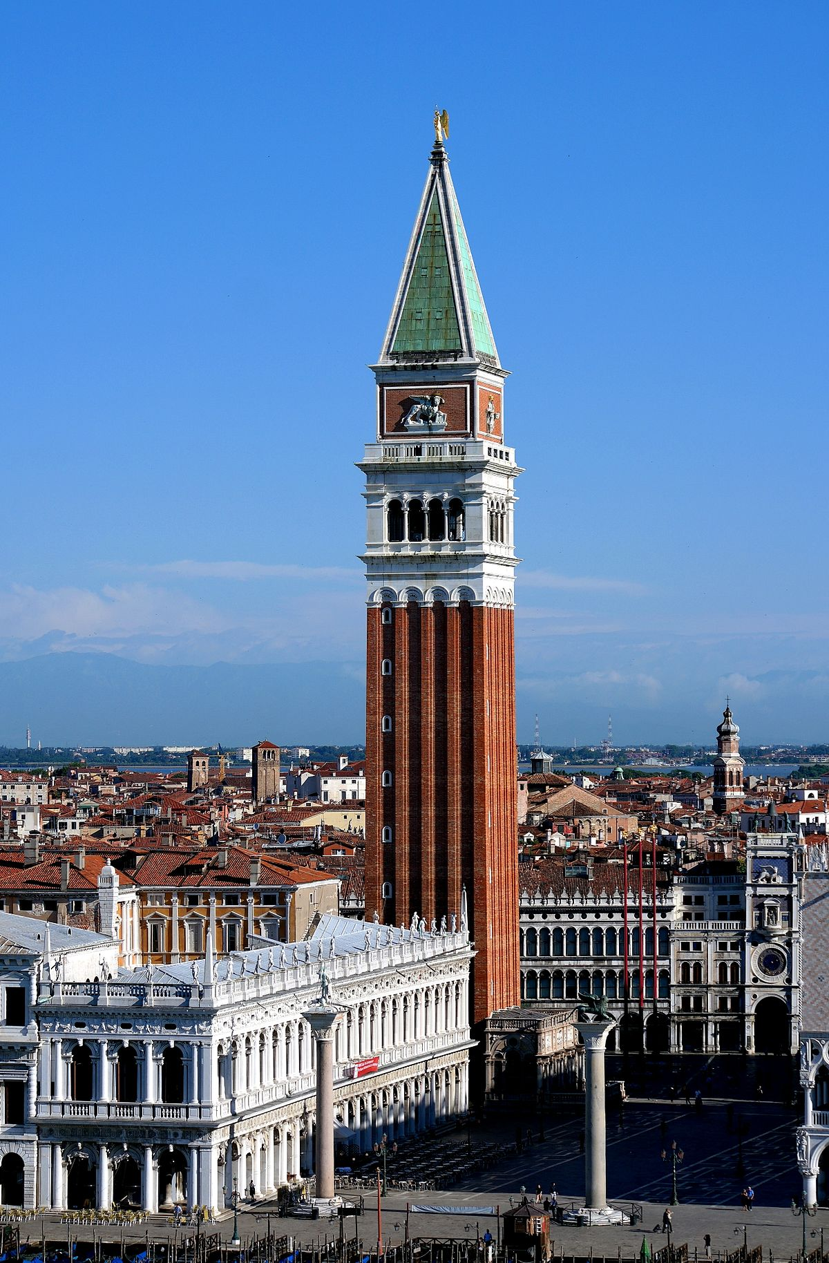campanile piazza san marco venezia