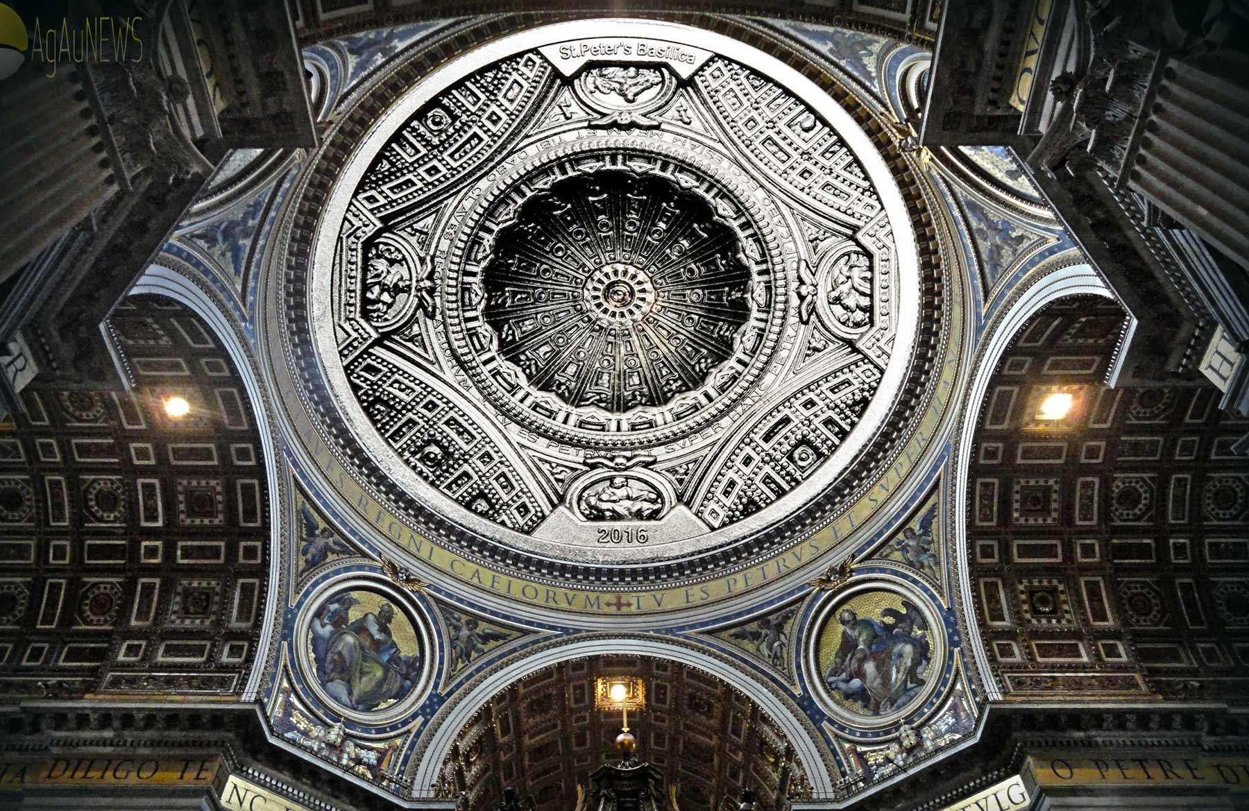 Kubah St. Peter's Basilica