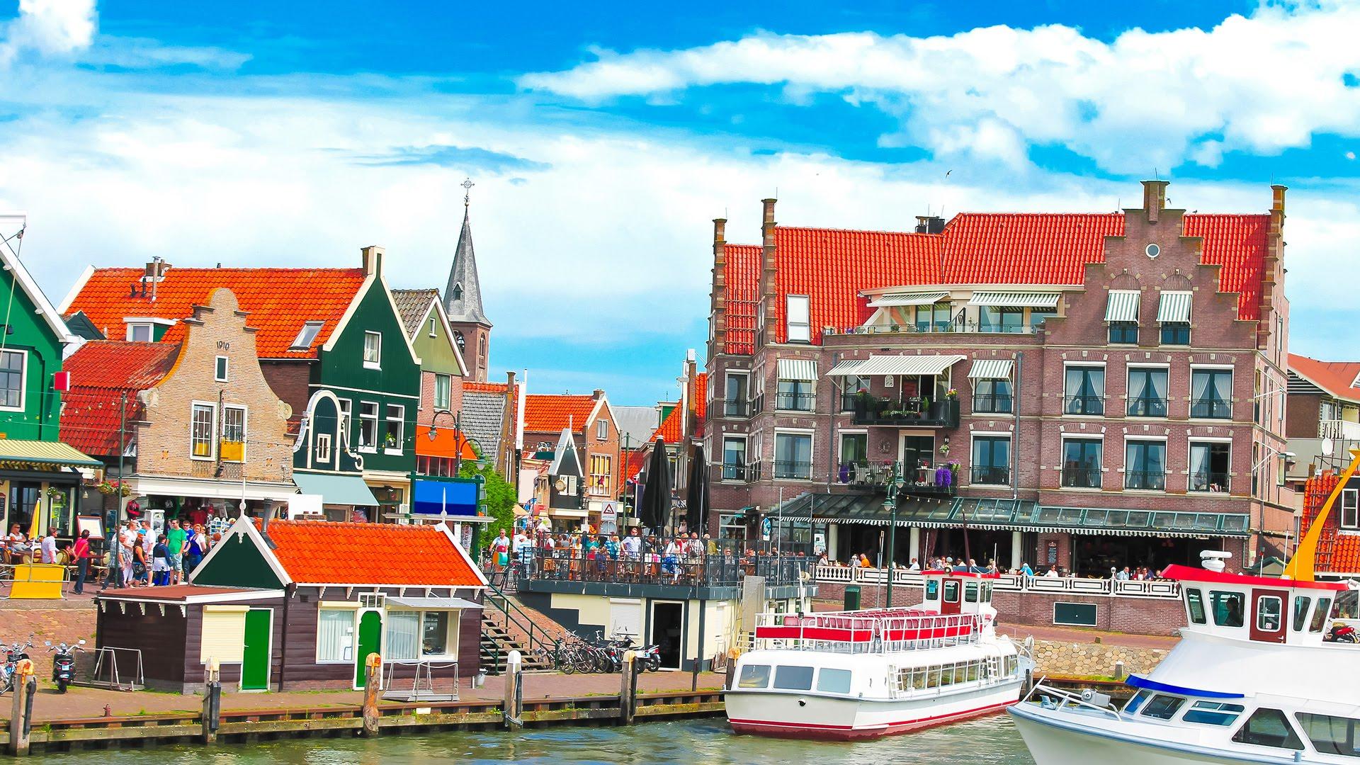 Volendam kota eksotis di Belanda