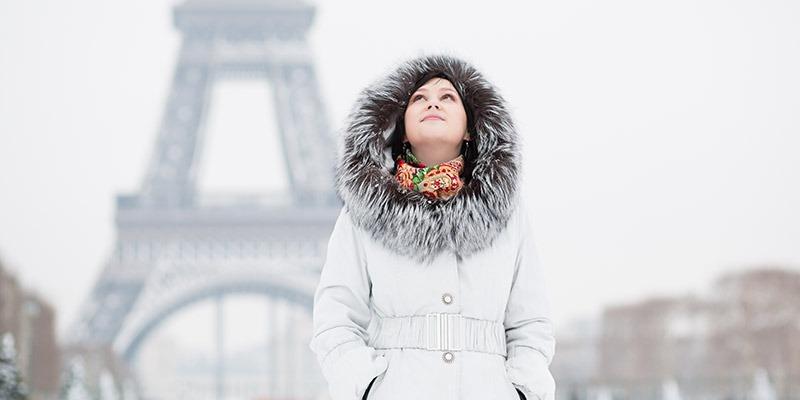 Winter di Paris