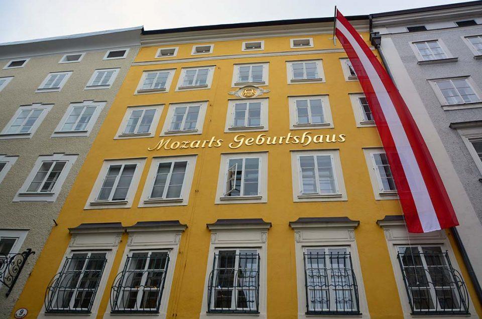 Mozart's Birthplace, Tempat Kelahiran Mozart di Sudut Austria