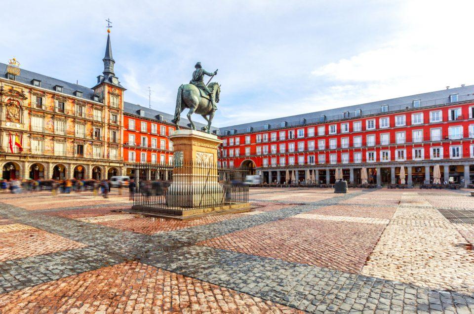 Plaza Mayor Square, Megahnya Oasis Kota Madrid