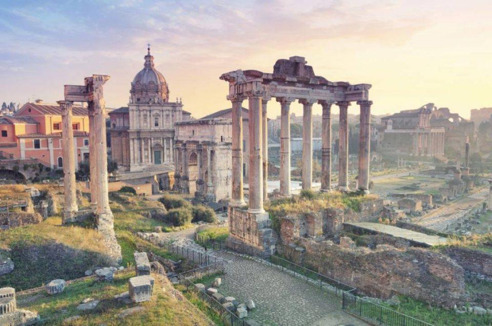 Roman Forum, Wisata Pusat Peradaban Romawi Kuno